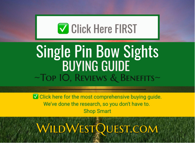 Single Pin Bow Sights